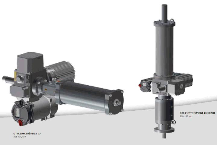 Иновативни и сигурни електрически задвижки Schiebel от серия FS