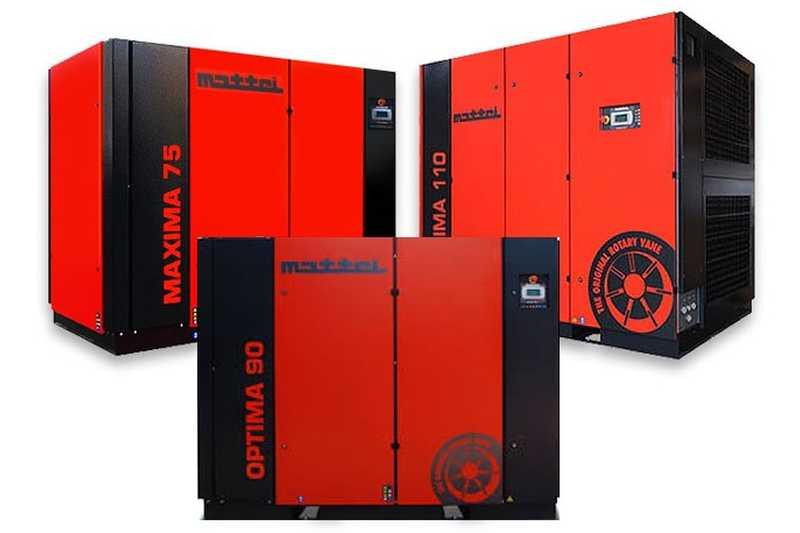 Надеждност и енергийна ефективност с <strong>компресори</strong> Maxima и Optima от Mattei