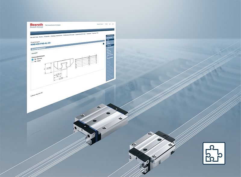 Bosch Rexroth представи нов онлайн конфигуратор за танкети