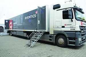 БР Техника представи най-новите продукти на <strong>Aventics</strong> в изложбен камион