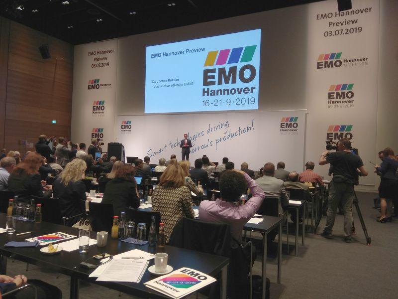 EMO Hannover 2019 Preview предоставя поглед към предстоящото изложение