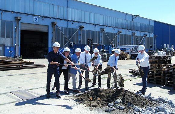 <strong>Elektror</strong> приключва строителството на ново производствено хале в Полша