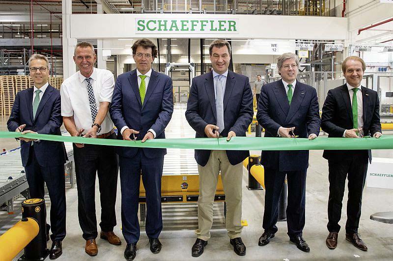 Schaeffler откри нов логистичен център в Китцинген