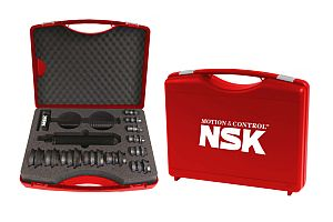 NSK вече предлага <strong>инструменти</strong> за монтаж и демонтаж на лагери