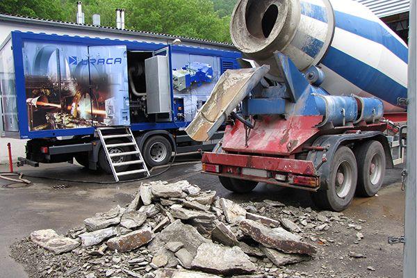 Системи за почистване на кошовете на бетоновози