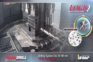 Модулна система за дълбоко пробиване ISCAR LOGIQ - ModuDrill