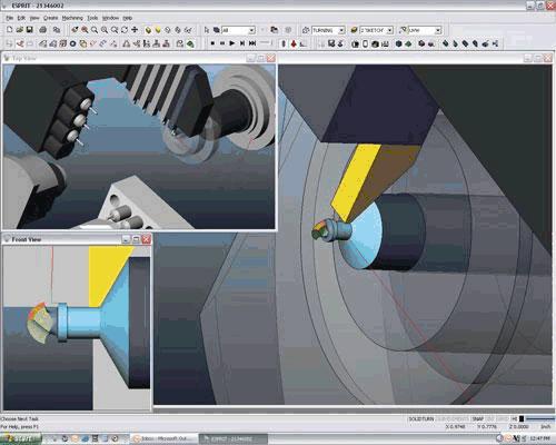 Управление на машини с <strong>ЦПУ</strong> с CAD/CAM <strong>система</strong>та ESPRIT