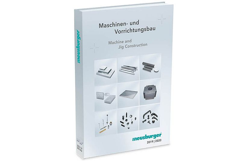Meusburger с нов каталог за елементи за машини и приспособления на AMB 2018
