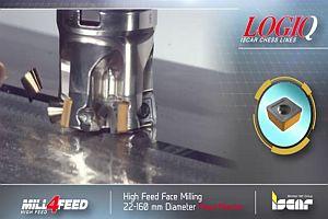MILL4FEED от ИСКАР: Челно фрезоване с високо подаване