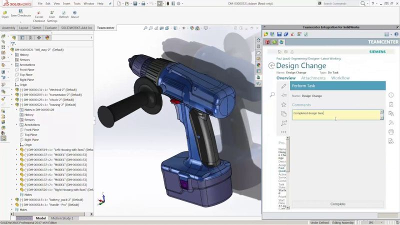 Siemens PLM Software организира уебинар за Teamcenter Rapid Start за SolidWorks