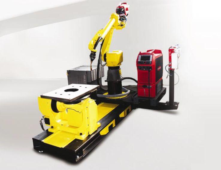 Интегрирано решение за роботизирано електродъгово заваряване