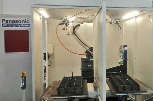 <strong>Евромаркет</strong> Метал достави роботизирана система за заваряване Panasonic за Микони