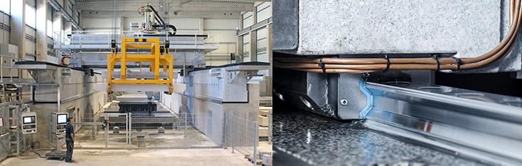 Bosch Rexroth осигурява <strong>линейна</strong>та <strong>техника</strong> за специализираните машини на Reitz Natursteintechnik