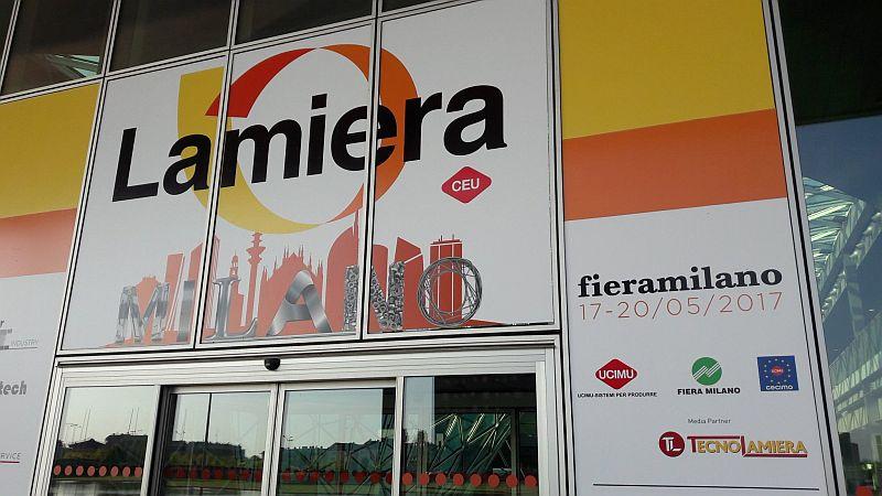 Днес стартира изложението за металообработващи машини Lamiera