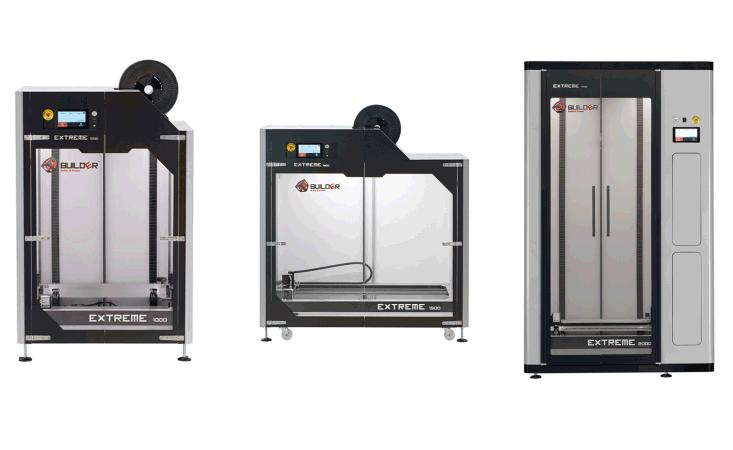 3D индустриални принтери Builder Extreme