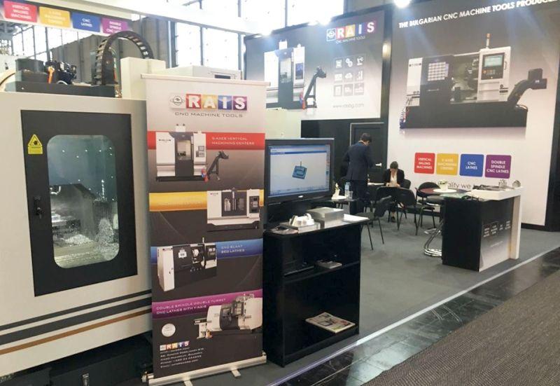 РАИС представя премиерно новата си производствена линия на EMO Hannover 2019