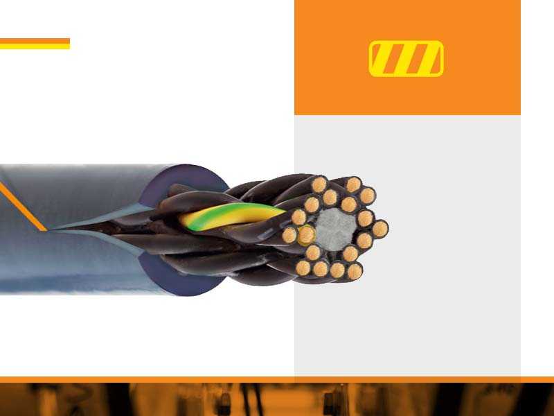 Над 1200 вида гъвкави кабели за индустрията