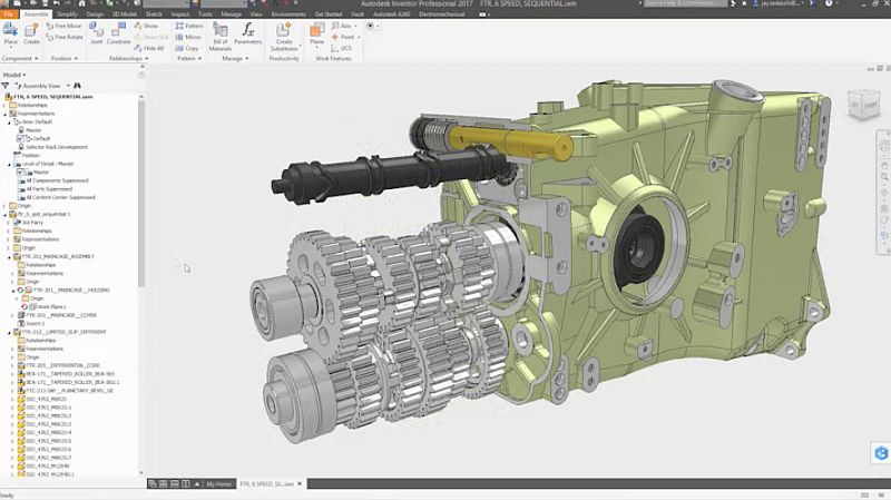 Kурс по Autodesk <strong>Inventor</strong> <strong>Professional</strong> за начинаещи
