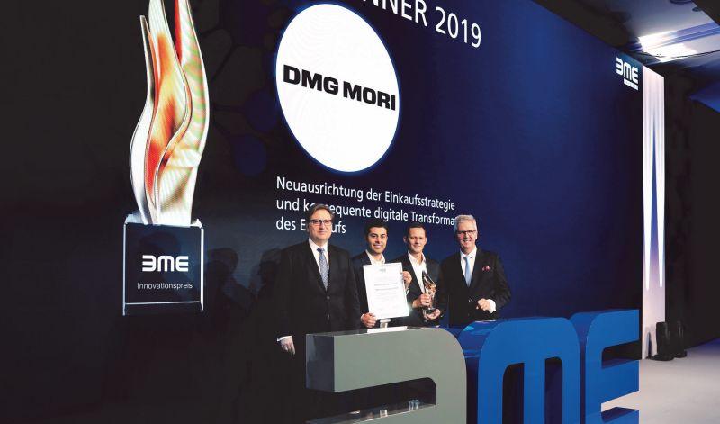 <strong>DMG</strong> <strong>MORI</strong> с награда за иновации в областта на логистиката и поръчките