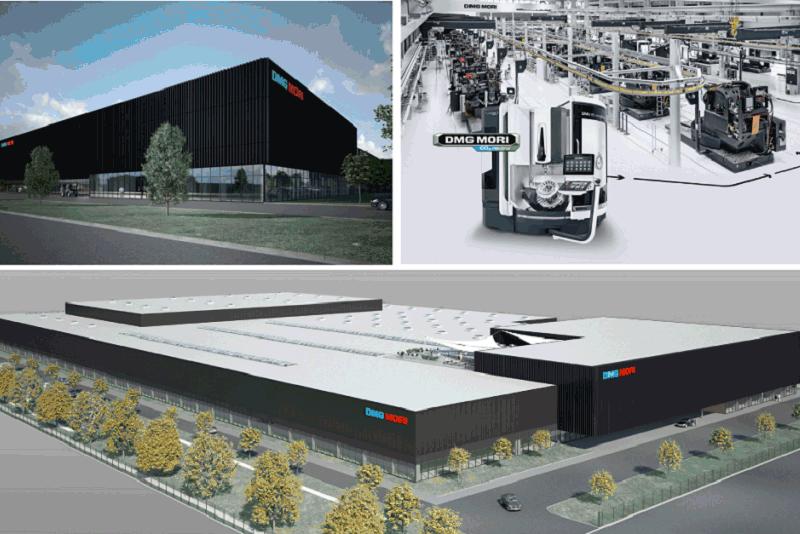 DMG Mori засилва присъствието си в Китай с високоавтоматизирано производствено предприятие