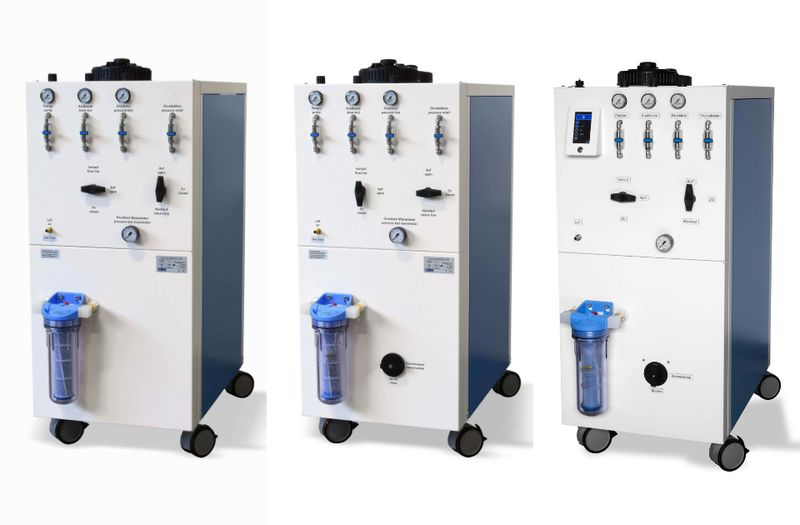 Серия мобилни почистващи уреди Cleantower Optisystem