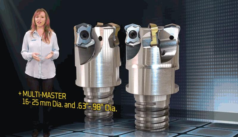 ИСКАР разширява серията LOGIQ4FEED с пластини и глави за високоскоростно фрезоване