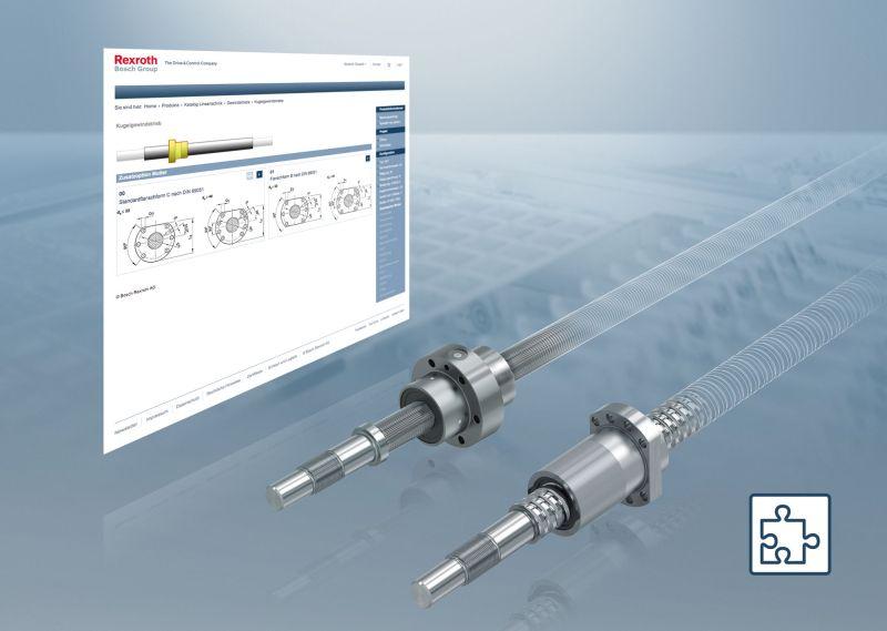 Bosch Rexroth представи интелигентен онлайн конфигуратор <strong>за</strong> СВД <strong>за</strong>движвания