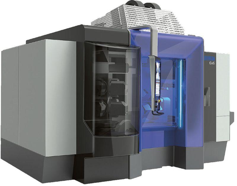 62795ea2ef7 23.01.2019   Обработващ център Mikron 6х6 ... , което осигурява висока  крайна точност. Mikron 6x6 определя нови стандарти за металообработващите  машини, ...