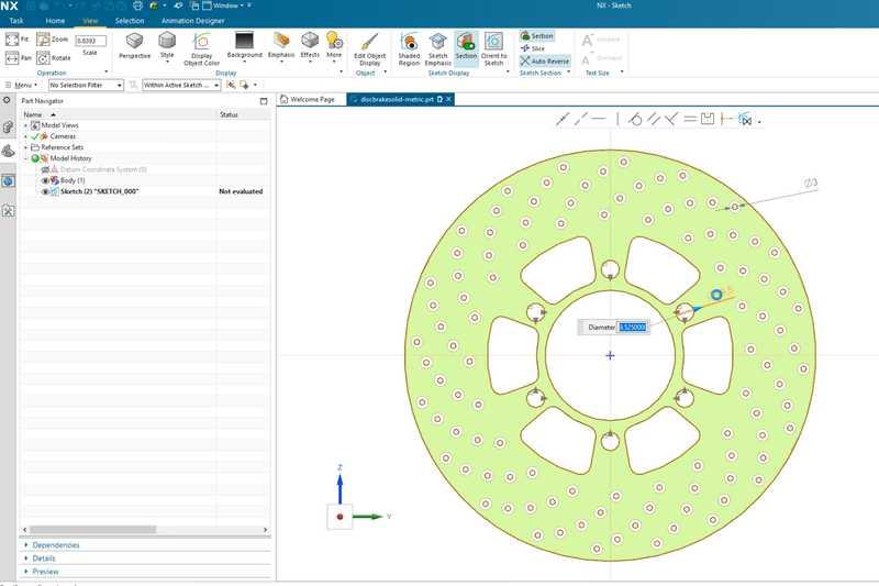 Спейскад представи CAD технологията за скициране с изкуствен интелект NX