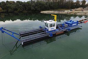 Плаващи драгажни машини ROHR-IDRECO Bagger