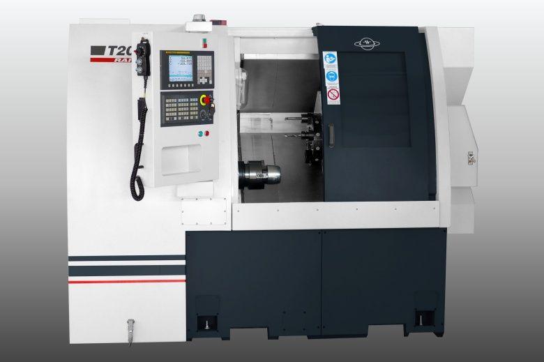CNC струг с наклонени направляващи Т200