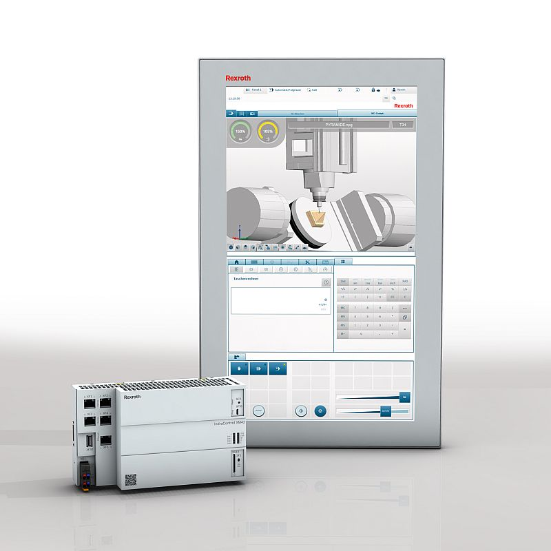 Bosch Rexroth обнови <strong>ЦПУ</strong> <strong>система</strong>та MTX