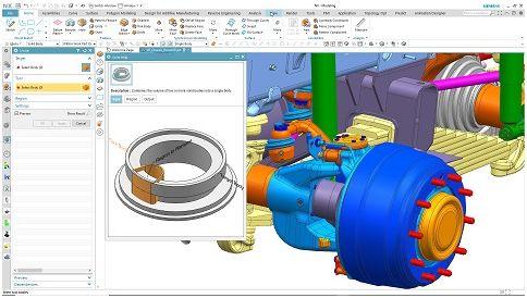 Siemens NX сега с изкуствен интелект и <strong>машинно</strong> обучение