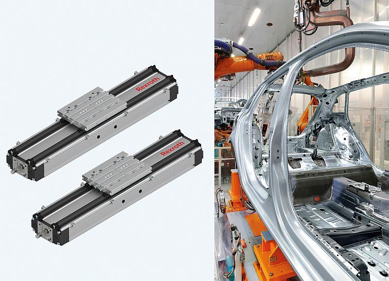 Bosch Rexroth предлага компактния модул CKK с предпазна лента