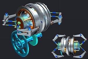 Спейскад реализира проект за кинематична симулация и верификация на движение на механизъм