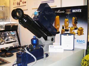 Хидравличен линеарен агрегат на <strong>Marie</strong>-<strong>Bentz</strong> е отличен със златен медал и диплом