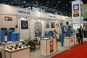 <strong>Omega</strong> Air взе участие на изложението IMTS в Чикаго