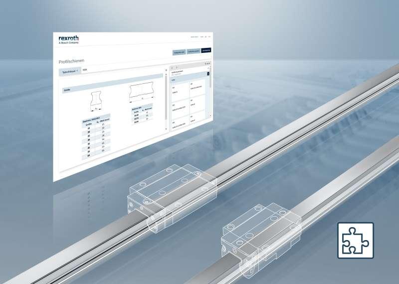 Bosch Rexroth представи нов онлайн конфигуратор <strong>за</strong> призматични направляващи