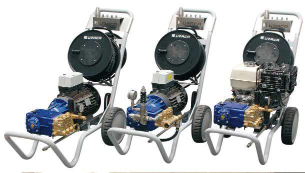 Аква Джет 2011: Новата линия водоструйки Smartline на Uraca е разработена от практици за практици и е предназначена за професионална употреба