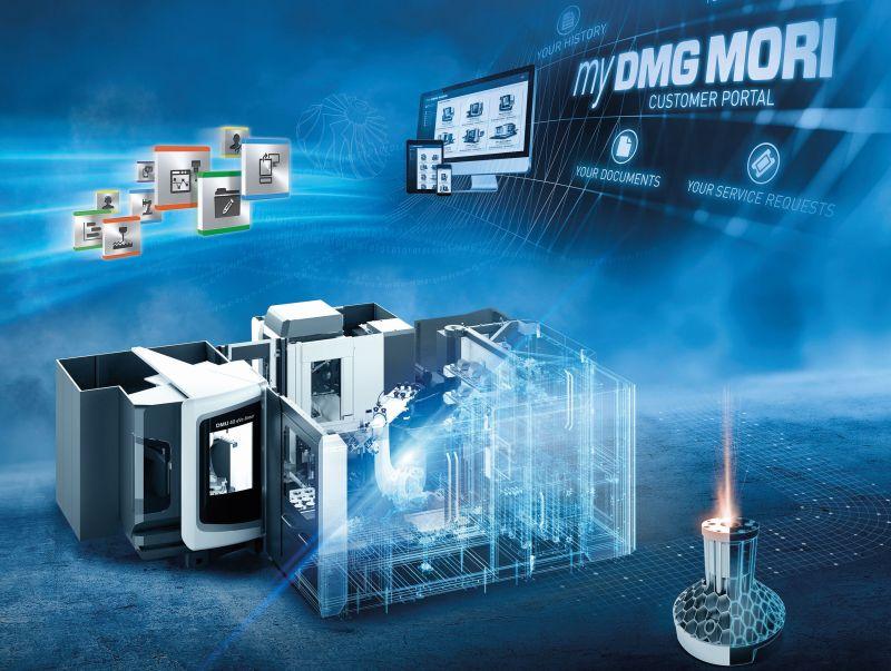 DMG MORI представя над 30 дигитални иновации на EMO Hannover 2019